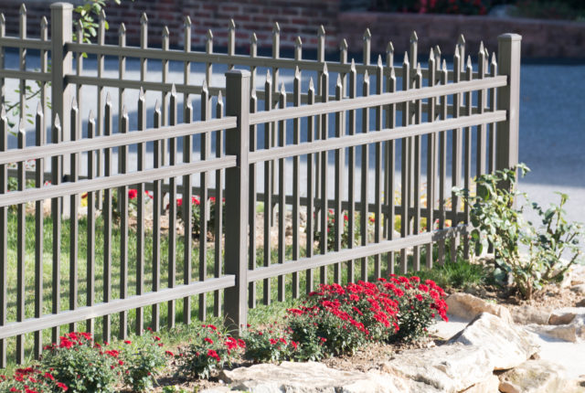 residential aluminum picket fence installers in pittsburgh