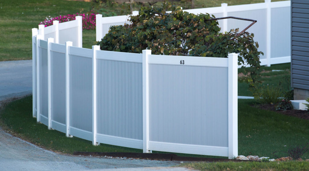 Vinyl Fence Styles and Colors