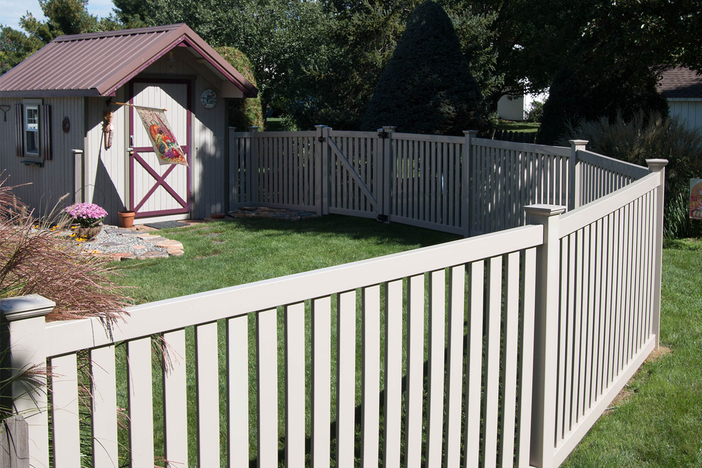 Vinyl Fence Styles Colors How To