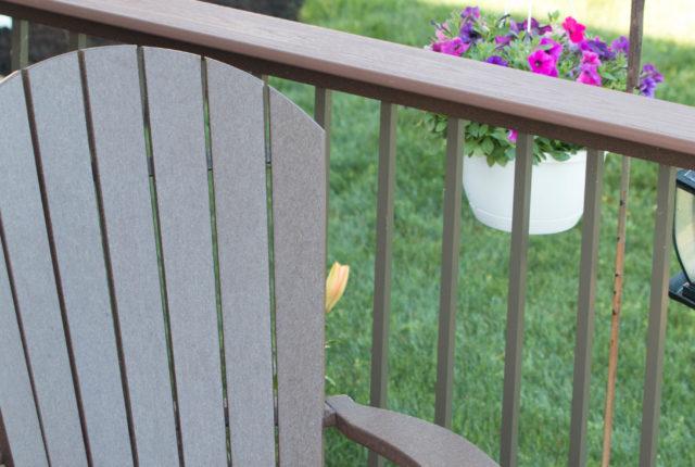 simple and elegant aluminum handrail