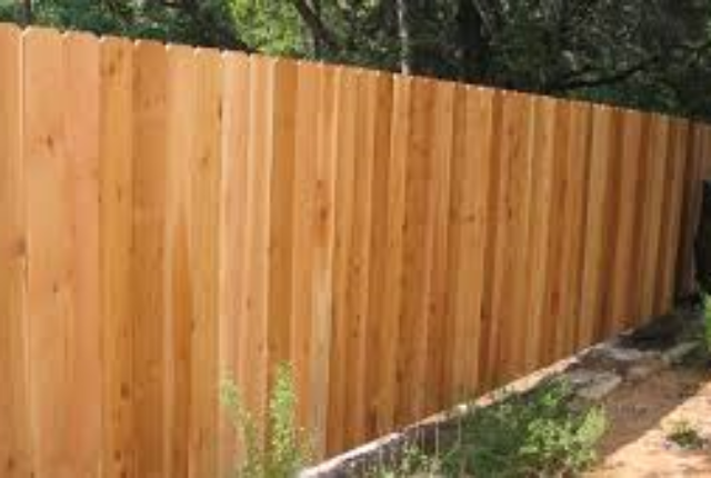 cedar picket privacy