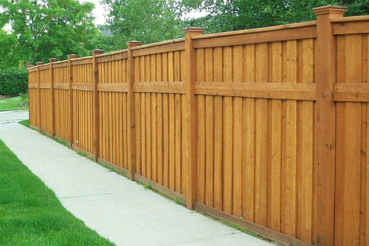 Privacy Fence Designs for Style & Seclusion | Freedonm ... on Decorations For Privacy Fence id=24389