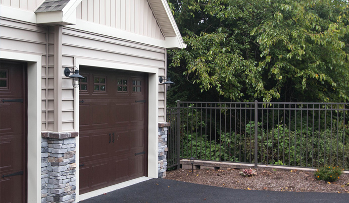 Aluminum fence installed in Pittsburgh PA