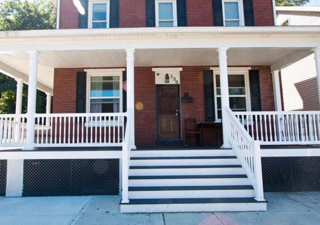 Best porch railing material for brick home