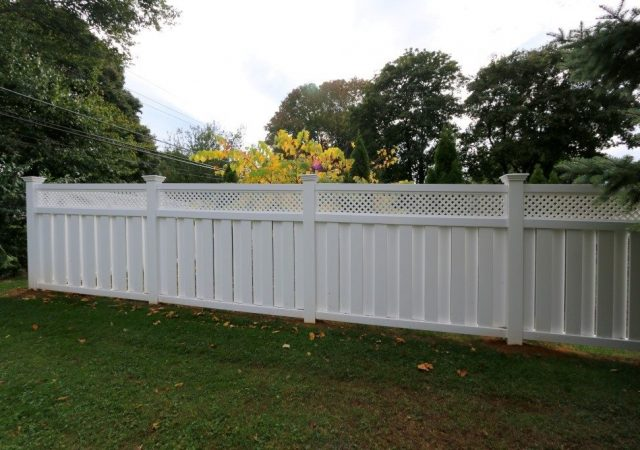 Privacy fence for homeowners