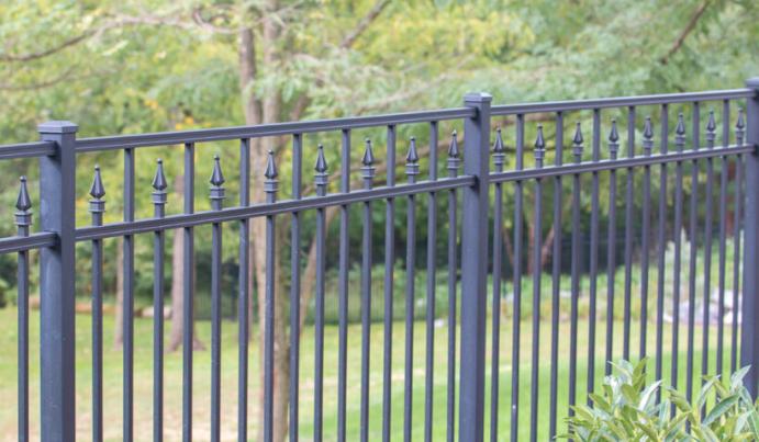 Popular aluminum fence in Pitt PA